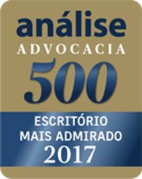 análise Advocacia 500 - Escritório mais admirado 2017