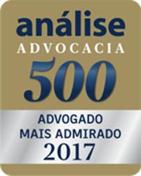 análise Advocacia 500 - Advogado mais admirado 2017
