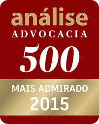análise Advocacia 500 - Mais admirado 2015