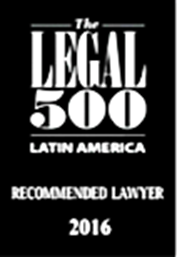 The Legal 500 Latin América- Recommended Lawyer 2016