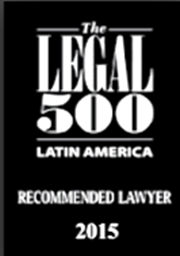 The Legal 500 Latin América- Recommended Lawyer 2015