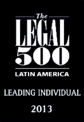 The Legal 500 Latin América- Lading Individual 2013